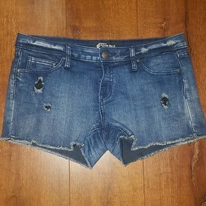 Volcom genuine jean shorts size 11